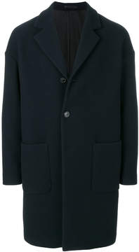 Mauro Grifoni single-breasted coat