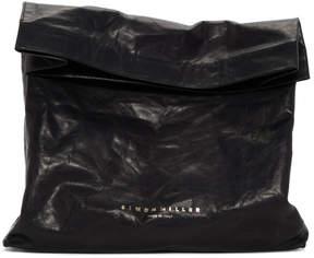Simon Miller Black XL Lunchbag Clutch