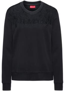 HUGO Boss Cotton Blend Sweater Nicta S Black