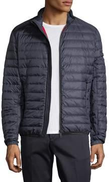 Prada Linea Rossa Men's Solid Quilted Jacket