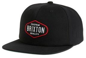 Brixton Men's Oakland Snapback Cap - Black