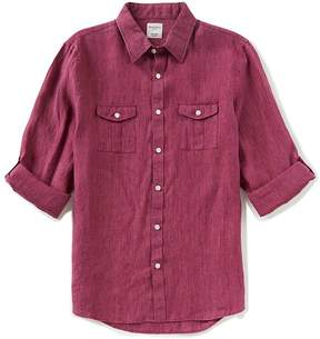 Murano Baird McNutt Linen Slim 2 Pocket Shirt
