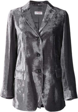Alberto Biani metallic fitted blazer