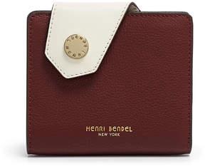 Henri Bendel Divine Mini Color Blocked Snap Wallet