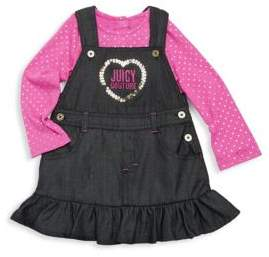 Juicy Couture Baby's Two-Piece Cotton Jumper & Top Set