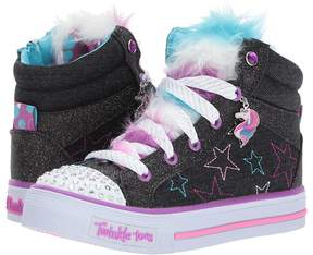 Skechers Shuffles 10856L Lights Girl's Shoes