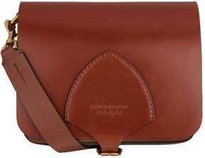 Burberry Small English Satchel - BROWN - STYLE