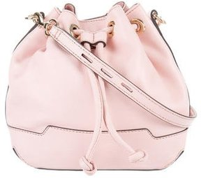 Rebecca Minkoff Leather Bucket Bag - PINK - STYLE