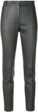 Joseph stretch leather trousers