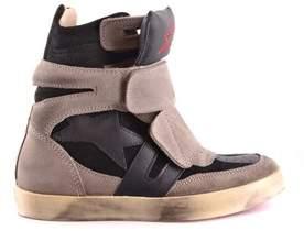 Ishikawa Women's Grey Suede Ankle Boots.