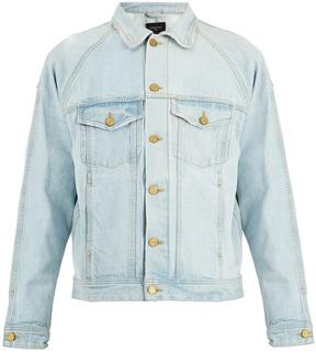 Fear Of God Raglan-sleeved denim jacket