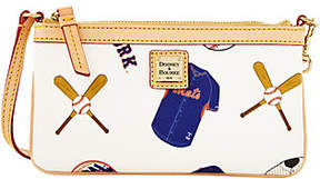 Dooney & Bourke MLB Mets Large Slim Wristlet