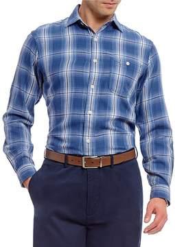 Daniel Cremieux Plaid Vintage Beach Long-Sleeve Woven Shirt