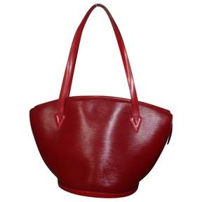 Louis Vuitton St Jacques leather tote - RED - STYLE
