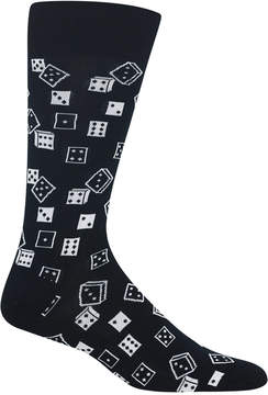 Hot Sox Men's Dice Socks