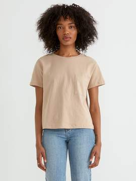 Frank and Oak Heavy Cotton Tee in Nomad