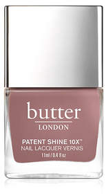 butter LONDON Patent Shine 10X Nail Lacquer - Royal Appointment - dark taupe creme