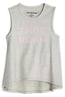True Religion TODDLER/LITTLE KIDS HIGH LOW TANK