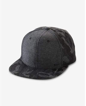 Express camo flat bill hat