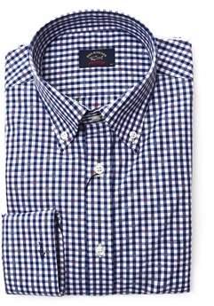 Paul & Shark Men's Blue Cotton Shirt.