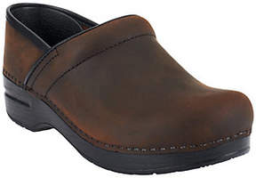 Dansko As Is Professional Leather Clogs in Neutrals