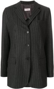 Alberto Biani striped fitted blazer
