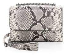 Tory Burch Fleming Snake-Print Crossbody Bag - MULTI - STYLE