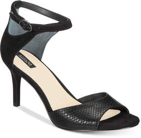 Alfani Women's Galeah Peep Toe Sandals, Created for Macy's Women's Shoes