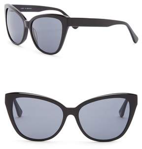 Joe's Jeans Modified Cat Eye 59mm Sunglasses