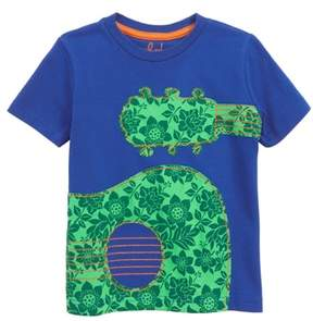 Boden Mini Guitar Applique T-Shirt