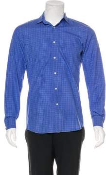 Ralph Lauren Black Label Plaid Dress Shirt