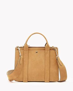 Theory Mini West Bag in Nubuck Leather