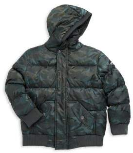 Appaman Boy's Camouflage Puffer Jacket