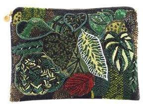 Forest of Chintz The Rainforest Clutch Bag