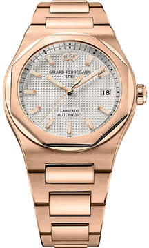 Girard Perregaux Girard-Perregaux 81005-52-132-52A Laureato rose gold watch