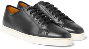 John Lobb Levah Full-Grain Leather Sneakers