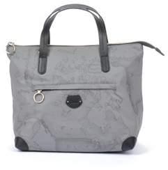Alviero Martini Women's Grey Polyamide Handbag.