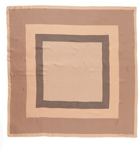 Stella McCartney Women's Mixed Print Silk Scarf
