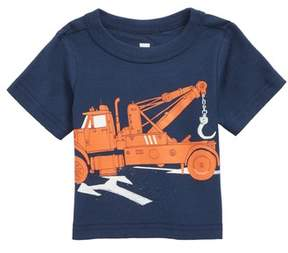 Tea Collection Tow Truck Graphic T-Shirt