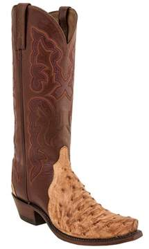Lucchese Women's Leather Western Boot.