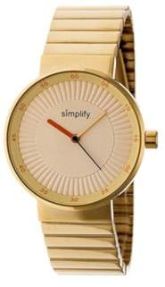 Simplify Men's The 4600 Quartz Watch.