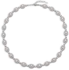 Adriana Orsini Women's Cubic Zirconia Oval Necklace