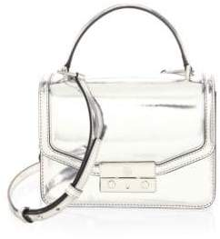 Tory Burch Juliette Leather Handbag - SILVER - STYLE