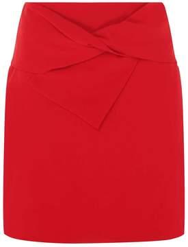 Dorothy Perkins Red Tie Bow Mini Skirt