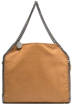 Stella McCartney brown Falabella small faux leather tote