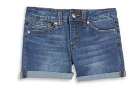 Joe's Jeans Girl's Mid-Rise Denim Shorts