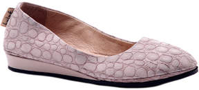 French Sole Zeppa Leather Wedge
