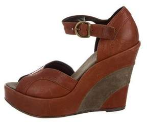 Fiorentini+Baker Leather Wedge Sandals