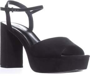 Call it SPRING Raresen Platform Ankle Strap Sandals, Black.