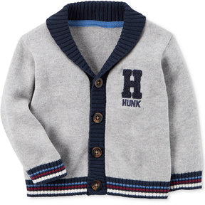 Carter's Cotton Varsity Hunk Cardigan, Baby Boys (0-24 months)